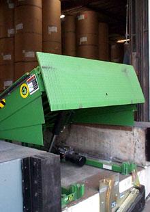 Dock Levelers Air Powered Hydraulic Mechanical Edge