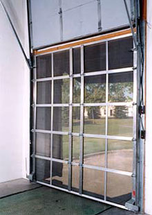 Bug Screen Doors Loading Dock Amp Warehouse Screen Doors
