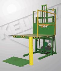 Rail Lift Dock Leveler