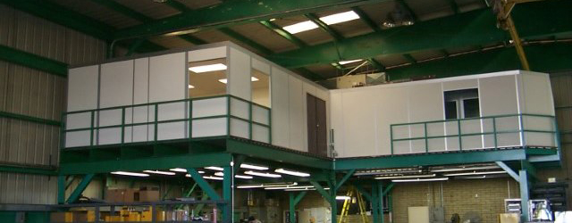 Mezzanines | Elevated Work Platforms for Warehouses